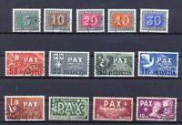 Schweiz 447-59 PAX-Satz gestempelt komplett (xr2)
