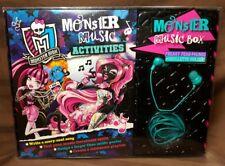 Monster High Monster Music Box~Freaky Fear-Phones+ Skullete Holder & Activities