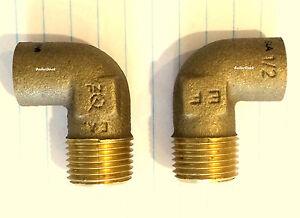 "Nibco 707-4-LF Cast Bronze Elbow, 1/2""----"" LEAD-FREE"""