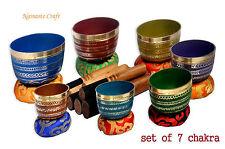 Chakra-HealingTibetan-Singing-Bowl-7-Sets-of-Meditation-Bowls-Nepal-byThamelmar