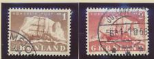 Greenland Stamp Scott #28/38, 9 Different, 7 Used, 1 Mnh, 1 Mhr