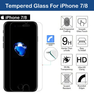 Anti Spy Tempered Black Glass Screen Protector for iPhone 7 & 8(PRIVACY)