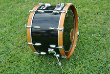 "1979 YAMAHA 9000 Pre RECORDING SERIES 24"" JET BLACK BASS DRUM for YOUR SET! E920"