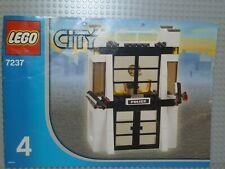 LEGO® City Bauanleitung 7237 Police Station Heft 4 gelocht instruction B4759