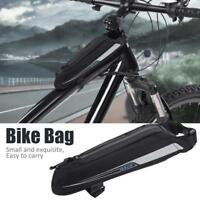0.4L Waterproof Cycle Bag Bike Bicycle Front Frame Pannier Top Tube Bag Pouch ZH