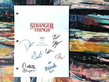 Stranger Things Pilot Episode Script Screenplay Replica / Autograph Reprints