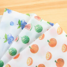 8pcs/pack Fresh Fruit Translucent Envelope Wedding Invitation Postcard Cover New