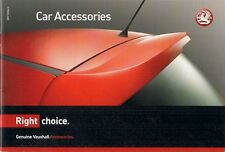 Vauxhall Accessories 2006-07 UK Market Brochure Corsa Tigra Astra Vectra Signum