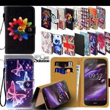 For Acer Liquid Z Series Phones - Leather Wallet Card Stand Flip Case Cover