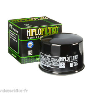Filtre à huile Hiflofiltro HF985 pour Yamaha Xp T-Max 500  /  TMAX 530