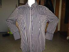 Street One Bluse blau/weiß Damen Gr. 44