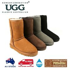 OZWEAR UGG MENS CLASSIC 3/4 SHORT BOOT (WATER RESISTANT) 4 COLOURS OB385