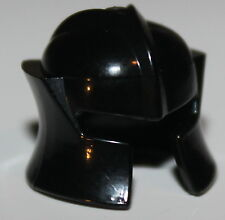 LeGo Castle Black Minifig Helmet w/ Cheek Guard Head Gear NEW