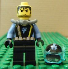 LEGO MINIFIGURE – AQUAZONE – AQUARAIDER 8 – GENTLY USED
