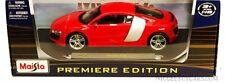 1:18 Maisto Red Audi R8  Item # 36143