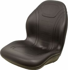 John Deere Black Vinyl Seat Fits 2320 2520 2305 2720 Replaces OEM# LVA14067