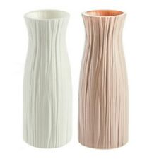 1x Plastik Vase Imitation Keramik Blumentöpfe Blumen Korb Dekor DIY Ornament
