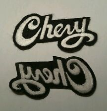Brand new CHEVY logo embroidery iron on patch jacket tshirt