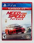 Need For Speed Payback Playstation Hits PS4 Brand New Sealed FREE SHIPPING