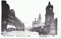 Yorkshire Postcard - Old Sheffield - Pinstone Street c1902 - 2355