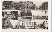 Wolverhampton; Multiview RP PPC, Unposted, By Masons, Shows Chapel Ash, Park etc