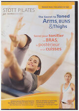 STOTT PILATES SECRET TO TONED ARMS BUNS AND THIGHS (DVD, 2005)