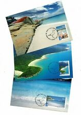 2010 Australia Beaches SG 3426/8 Maxi Cards Set of 3