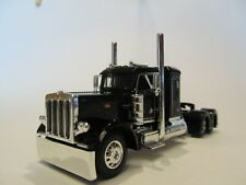 DCP FIRST GEAR 1/64 SCALE 359 PETERBILT SMALL BUNK, BLACK & CHROME