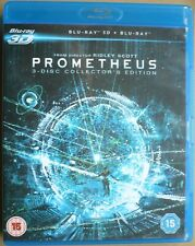 Prometheus - (3D & Blu-ray, 2013, 3-Disc Set)  Region free
