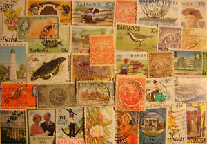 Barbados 100 Different Used