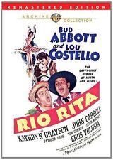 RIO RITA (1942 Abbott & Costello)  Region Free DVD - Sealed