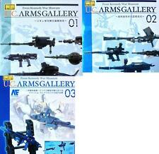 U.C. UC arms gallery #01, 02, 03 from the Kennedy Museum Extended MSIA