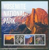 ST. VINCENT  GRENADINES  2014  YOSEMITE NATIONAL PARK  SHEET II   MINT NH