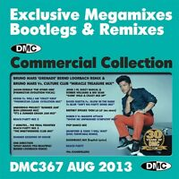 New DMC Commercial Collection 367 Club Hits DJ Clubber CD August 2013 Release