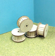 Cable Reel Kit 4 Pack O / S Scale Laser Cut