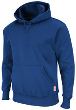 ROYAL DODGERS BLUE MAJESTIC BLANK THERMA BASE THERMABASE HOODED SWEATSHIRT XL