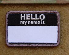 HELLO MY NAMES IS... SWAT Morale Patch VELCRO® Brand hook fastener