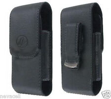 Leather Case Pouch for ATT LG Shine CU720, Neon GT365 Etna, Neon 2 II GW370 A340