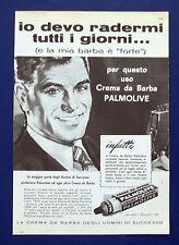 A691-Advertising Pubblicità-1960-CREMA DA BARBA PALMOLIVE