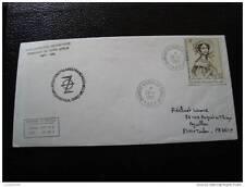 TAAF carta 29/1/85 - sello - yvert y aire de tellier nº68 (cy4)