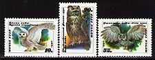 Russia 1990 Sc5871-73  Mi6063-65  3 v  mnh  Owls