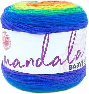 Lion Brand Mandala Baby Yarn-Rainbow Falls - 3 Pack