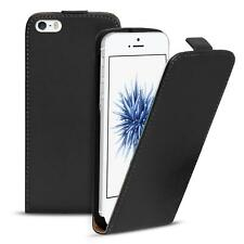 Flip Case Apple iPhone 5 5S SE Hülle Pu Leder Klapphülle Handy Tasche Cover