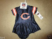 Chicago Bears NFL Cheerleader Cheer Dress Outfit Infant Baby 3-6M 6M NEW Cute!