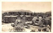 RPPC Mount Adams From Randle, Washington ca 1940s Ellis Vintage Postcard