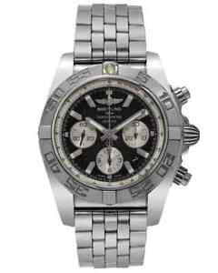 BREITLING CHRONOMAT 44 CHRONO AUTOMATIC MEN'S WATCH AB011012/B967, MSRP:$9,060