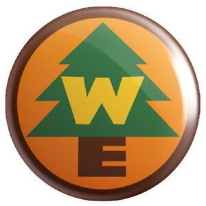 Wilderness Explorer BUTTON PIN BADGE 25mm 1 INCH - Novelty Russel's Up!