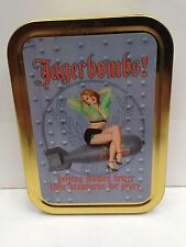 Jagerbombs! Pin-up Girl Vintage Funny Cigarette Tobacco Storage 2oz Tin