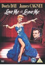 LOVE ME OR LEAVE ME DVD Doris Day James Cagney Brand New Sealed UK Release RARE
