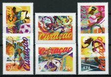 Curacao Sports Stamps 2020 MNH Basketball Baseball Football Tennis 6v Set